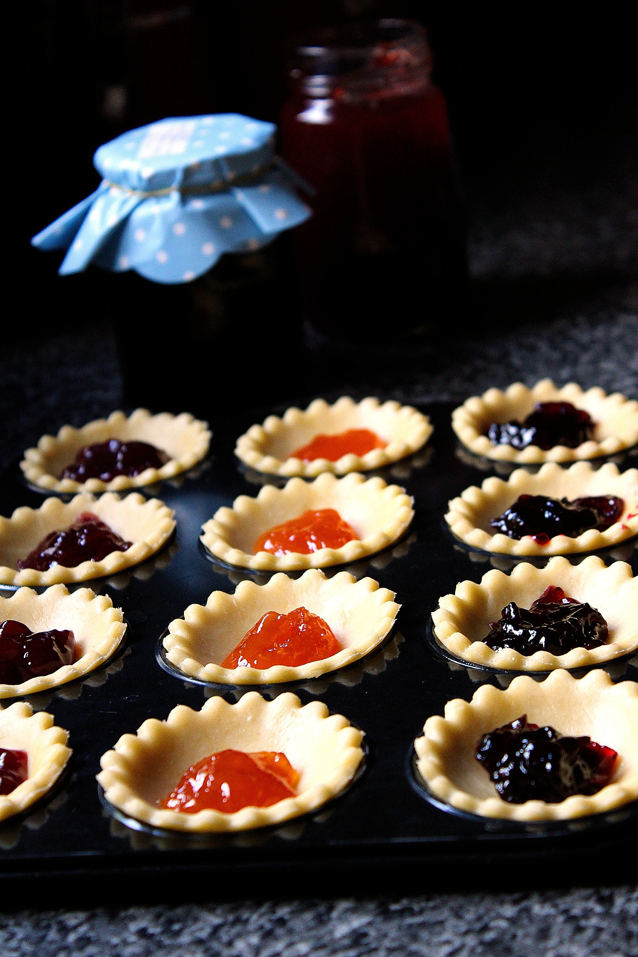Empty the Fridge - Jam tarts