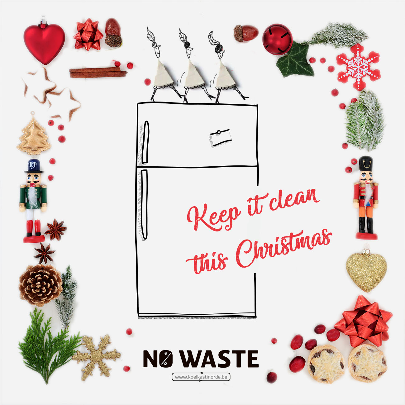 Empty the Fridge - Keep it clean this Christmas