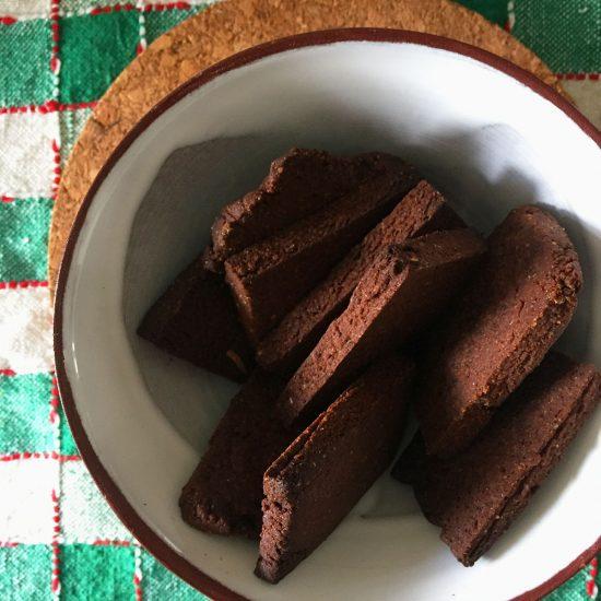 Empty the Fridge - Shortbread koekjes met koffiedrab