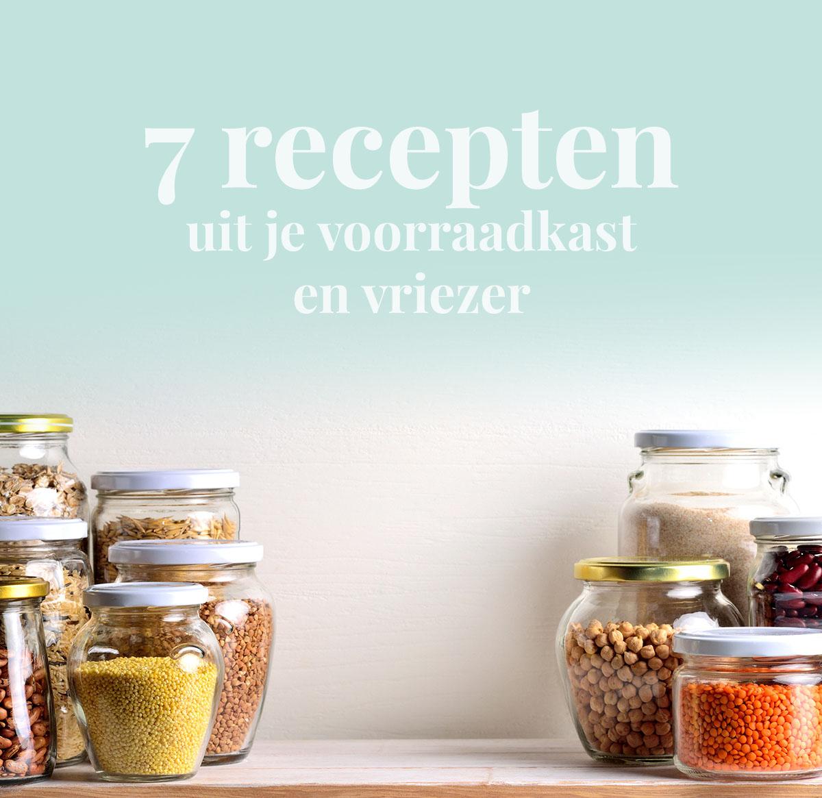 Empty the fridge - 7 recepten uit je voorraadkast en vriezer